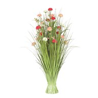 Grass Floral Bundle Carnation 100cm