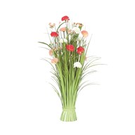 Grass Floral Bundle Carnation 70cm