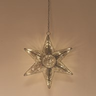 Hanging LED Star 44cm