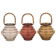 Hanging Tea Light Lantern 23 cm 3 Assorted