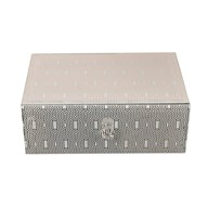 Hex Design Jewellery Box 7cm