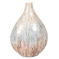 Lacquered Mosaic Vase 40cm