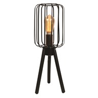 Black Tripod Table Lamp 50cm