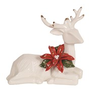Laying Reindeer 12cm