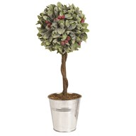 Leaf & Berry Topiary Tree 36cm