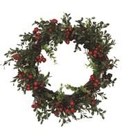 Leaf & Berry Wreath 42cm