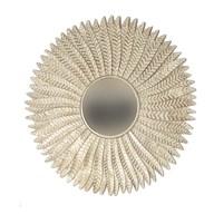 Leaf Mirror White anf Gold 90cm