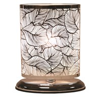 Leaf Oval Touch Lamp 27x19cm