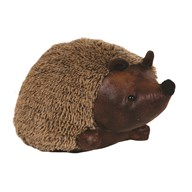 Leather Hedgehog Doorstop 25cm
