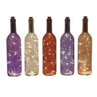 LED Bottle 31cm 5 Assorted