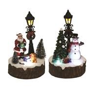 LED Christmas Scene 2 Assorted