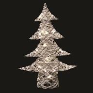 LED Christmas Tree (20L) White 60cm