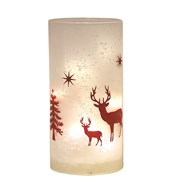 LED Frosted Glass Decor 20cm