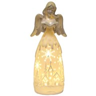 LED Lustre Angel W/Bible 34cm
