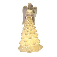 LED Lustre Angel W/Tree 31.5cm