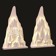 LED Mountain 38cm 2 Assorted