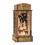 LED Phone Box Natural 15x32cm