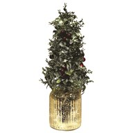 LED Red Berry Tree 43cm