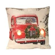 LED Red Car Cushion 40cm