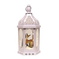 LED Reindeer Decor Lantern 38cm