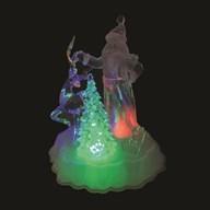 LED Santa & Tree 20.5cm