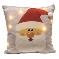 LED Santa Cushion 45cm