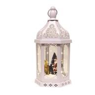 LED Santa Decor Lantern 38cm