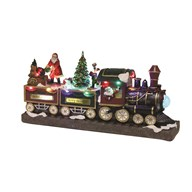 LED Santa Train 42.5cm