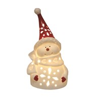 LED Snowman 12cm
