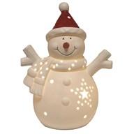 LED Snowman 17.5cm