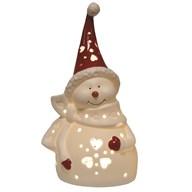 LED Snowman 18.5cm