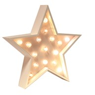 LED Star Wall Art 45cm