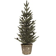 Led Tree In Basket 92cm