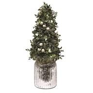 LED White Berry Tree 43cm