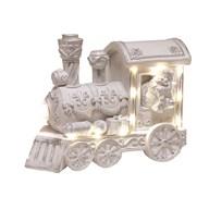 LED White Train 19x14cm