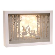 LED Xmas Forest Scene 30cm