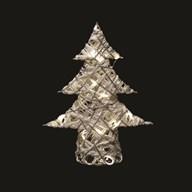 LED Xmas Tree (20L) White 40cm