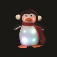 Light Up Penguin 20cm