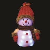 Light Up Snowman 20cm