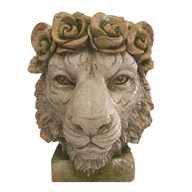 Lion Head Planter 37x44cm
