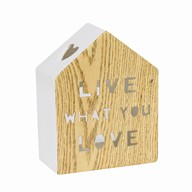 Live House Tealight Holder 15.5cm
