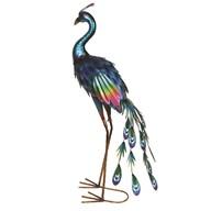 Metallic Peacock 37.5x81cm