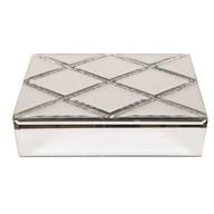 Mirrored Jewellery Box 23cm