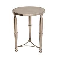 Nickel Round Table 60x44cm