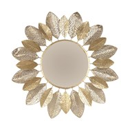 Petal Metal Design Mirror 91cm