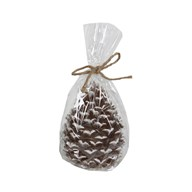 Pine Cone Candle 10cm