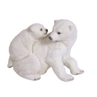 Polar Bear Family 21cm