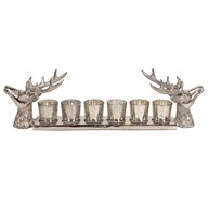 Reindeer 6 Tealight Holder 56cm