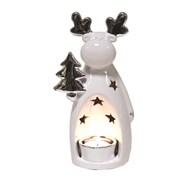 Reindeer Tealight Holder 22cm