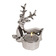 Reindeer Tealight Holder 10.5cm